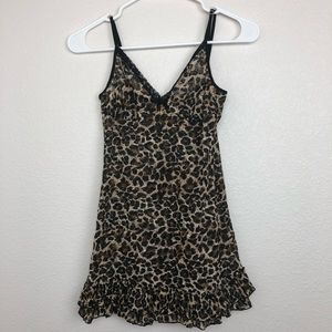 Victoria's Secret leopard print nightie